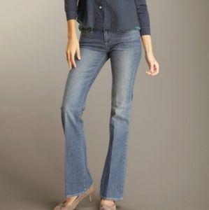 PAIGE Blue Flair Leg Denim Jeans